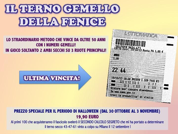 HALLOWEEN PARTY 2013: Ecco il dolcetto di Giuseppe Chiaramida | 33-40 AMBO SECCO UNICO SU TUTTE! Diapos52