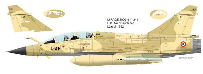 Mirage 2000 B colours 21_4010