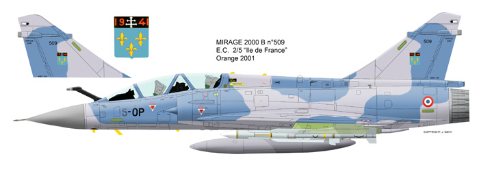 Mirage 2000 B colours M2b_5010