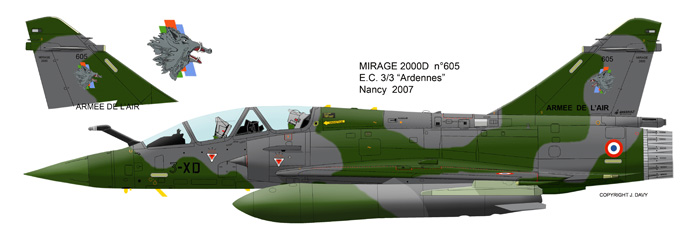Mirage 2000 B colours M2d_6010