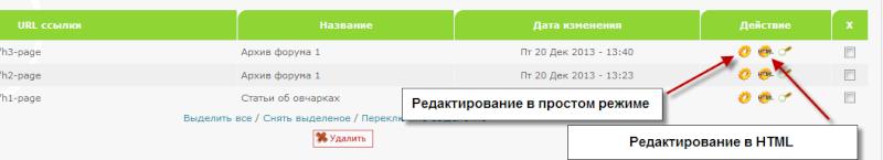 Обновление на Forum2x2:  Два редактора для управления страницами HTML  Html_t12