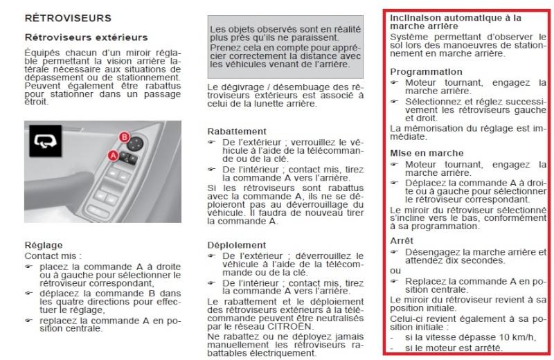 [QUESTION] Inclinaison du rétroviseur pour se garer  Retro11