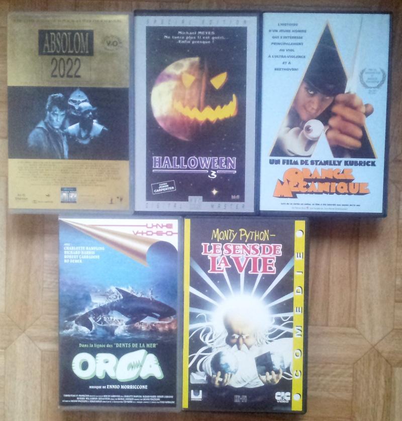 quelques VHS à vendre 2014-010