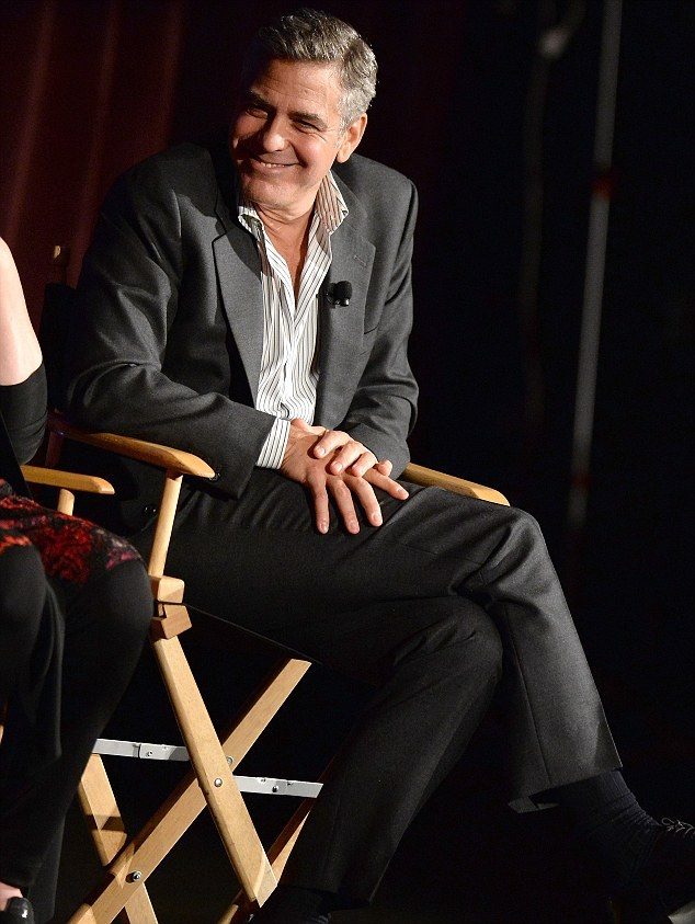 George Clooney & Julia Roberts Q&A August:Osage County Image30