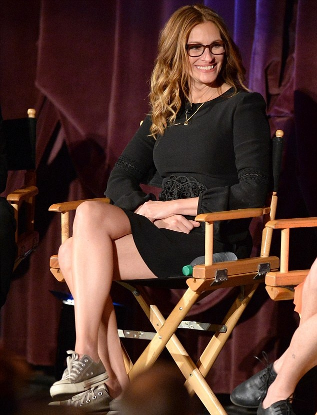 George Clooney & Julia Roberts Q&A August:Osage County Image31