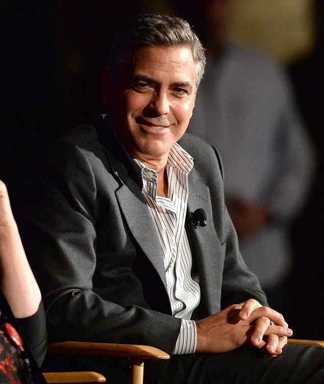 George Clooney & Julia Roberts Q&A August:Osage County Image33