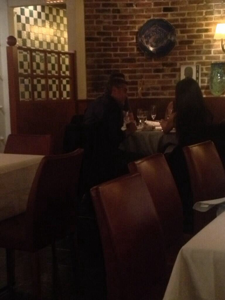 Photo: George Clooney at dinner in Vancouver 18 Dec 2013 Image65