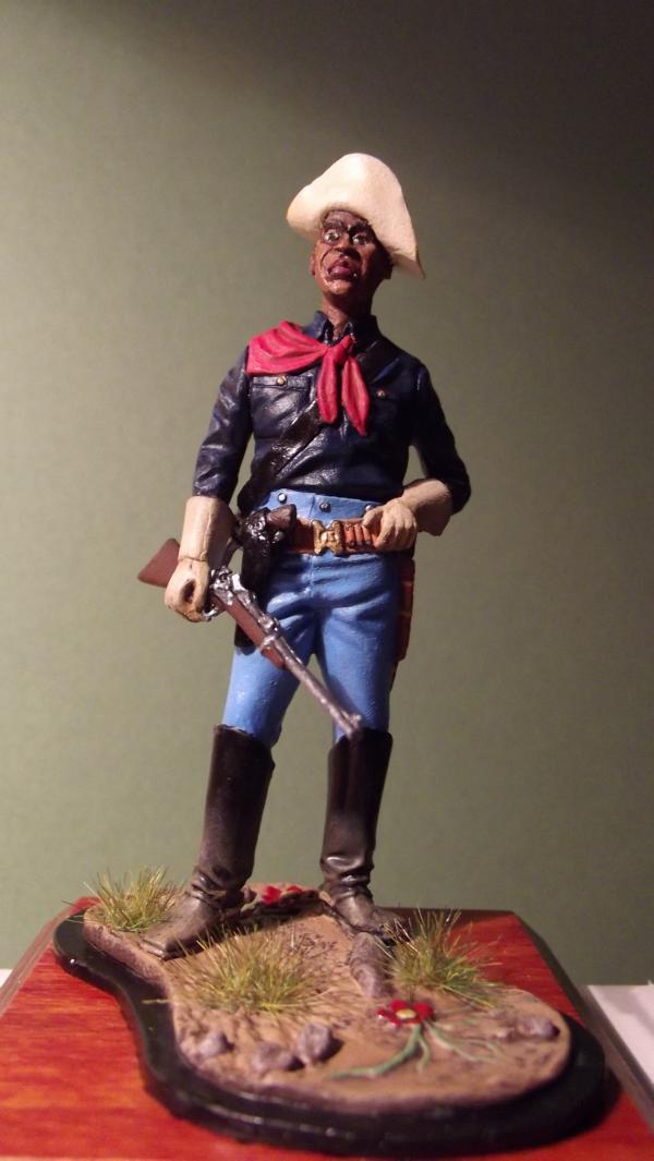 """""""Buffalo Soldier"""" K800_127"""
