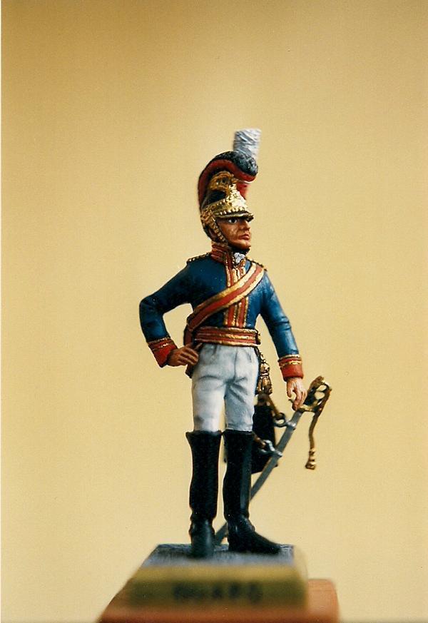 Offizier Royal Horse Guards, England, 1815 K800_s11