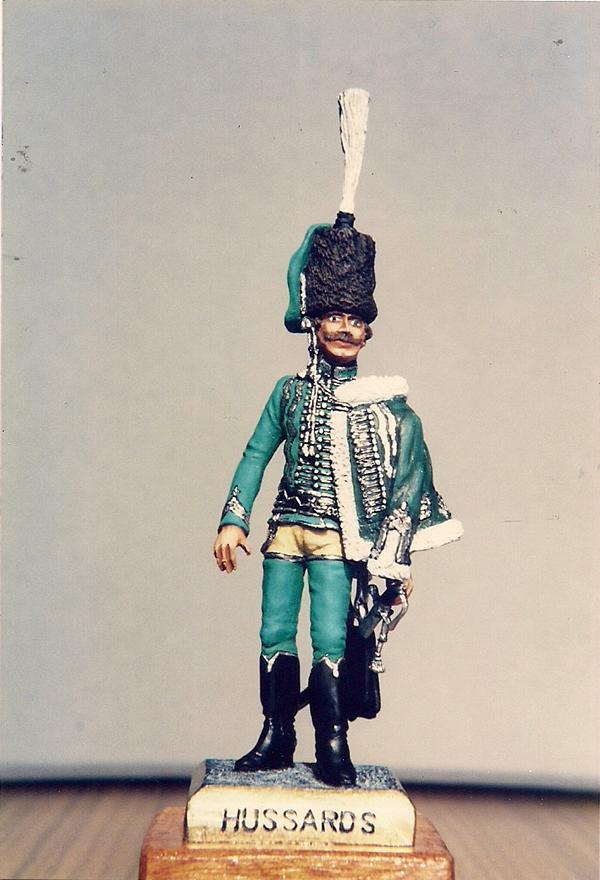 Husaren-Offizier, Preussen, um 1740 K800_s15
