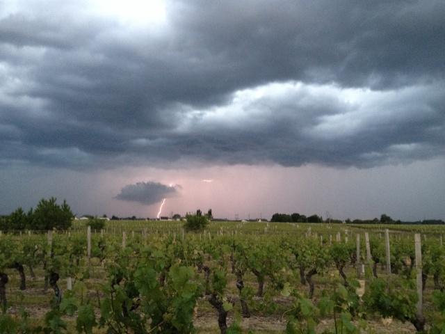 Dégradation orageuse potentiellement active pour ce soir et surtout durant la nuit prochaine. Image34