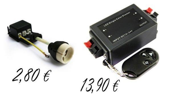 Recherche Spots à Leds orientables 12 volts de style Adapta10