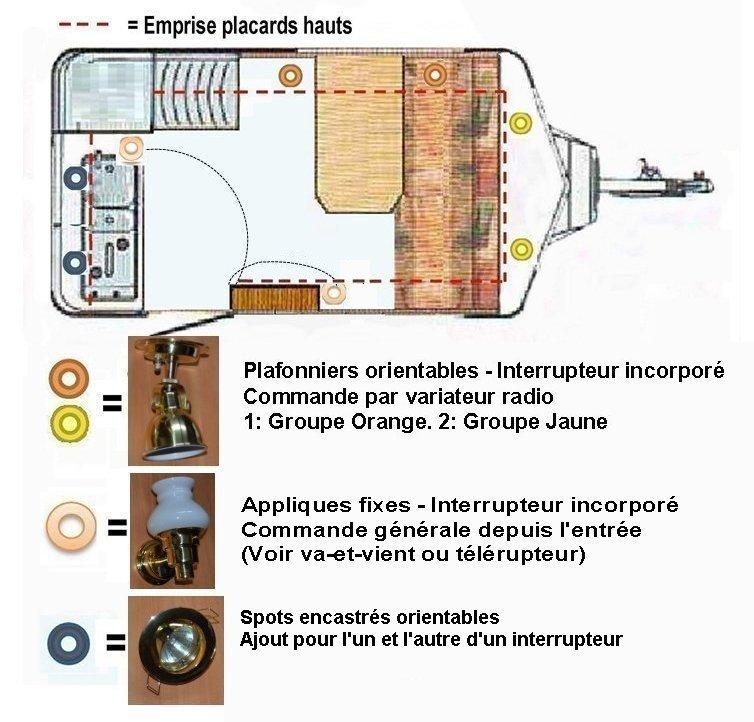 Eclairage Grand Luxe dans Eriba (Led, transfo, variateur..?) Implan10