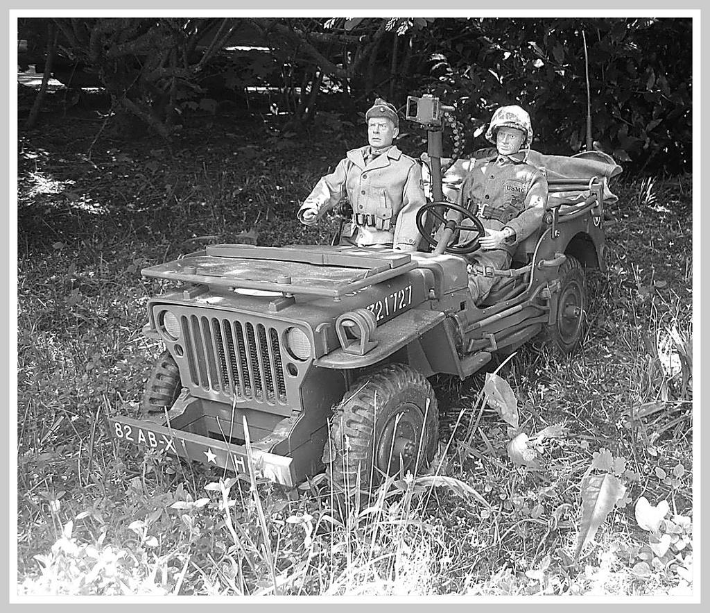Major John Reisman and his chauffeur........ 006_op10
