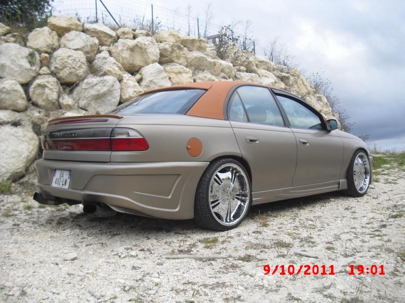 Mon Opel Omega VS Cadillac Catera 2011-110