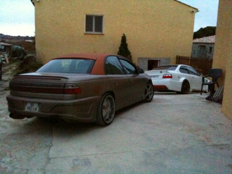 Mon Opel Omega VS Cadillac Catera 2012-030
