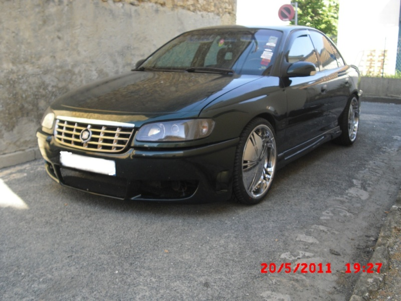 Mon Opel Omega VS Cadillac Catera Photo_20