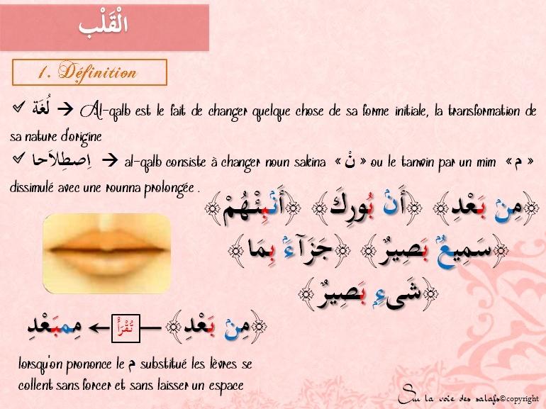 Première Règle: le noun non vocalisée & les voyelles doubles Alqalb10