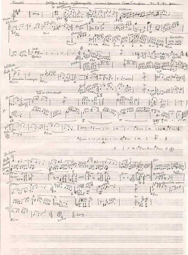 Ilayaraaja's Score Sheets Score210