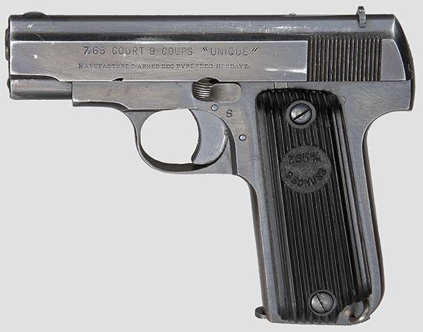 Production du pistolet Unique 17 Unique11