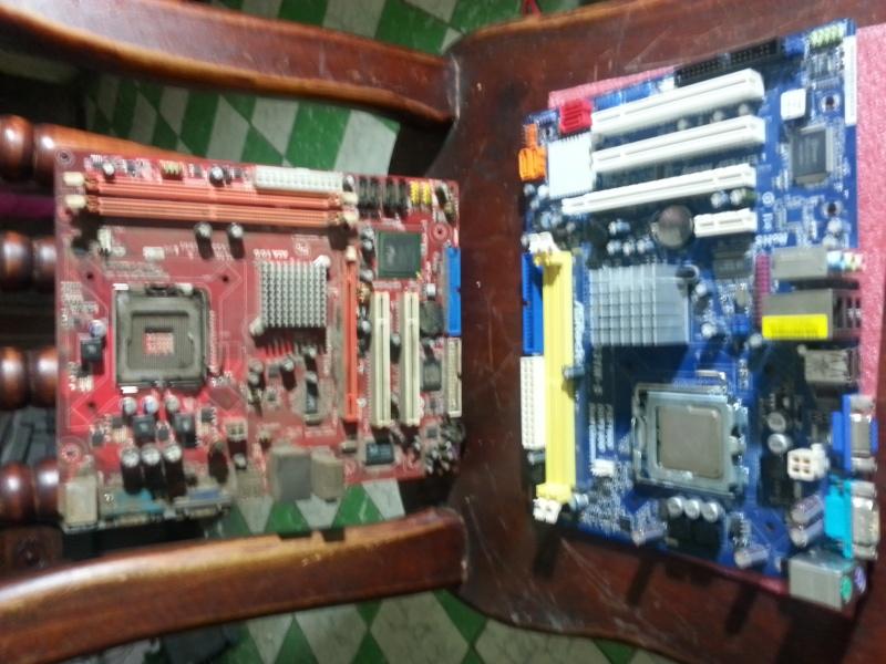 Cambio de tarjeta madre del PC 20131011