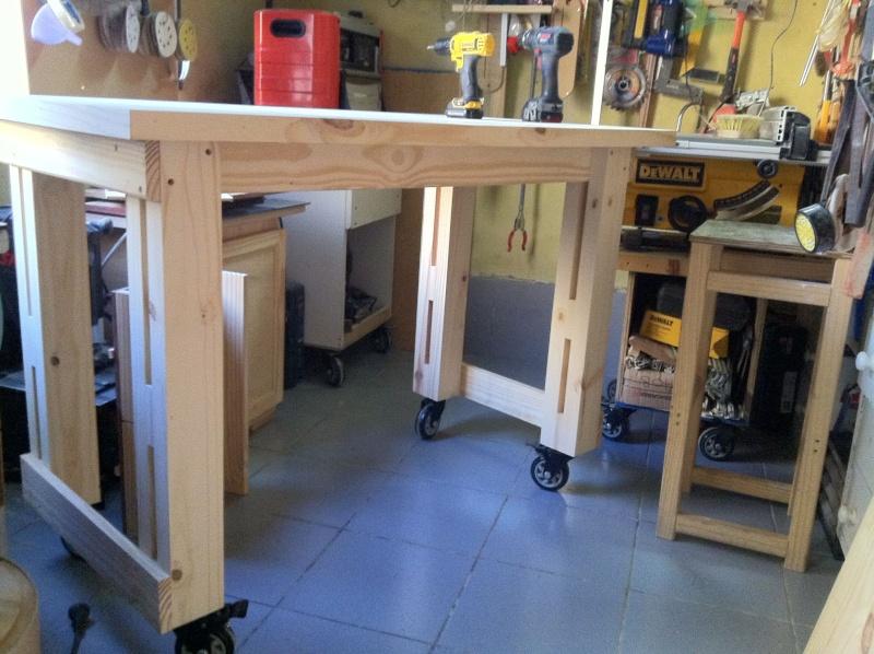 trabajo - Renovando mi mesa de trabajo 7mb810