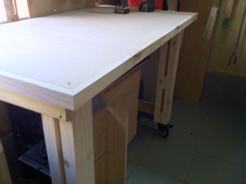 trabajo - Renovando mi mesa de trabajo 7okd10