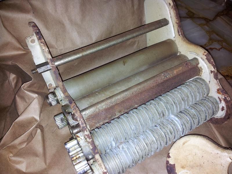 Restauración de máquina para fabricar pastas hechas en casa Bm8p10