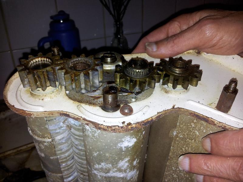 trabajo - Restauración de máquina para fabricar pastas hechas en casa Sqvp10
