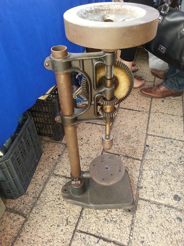 manual - Taladro de pedestal manual muy antiguo Taladr10