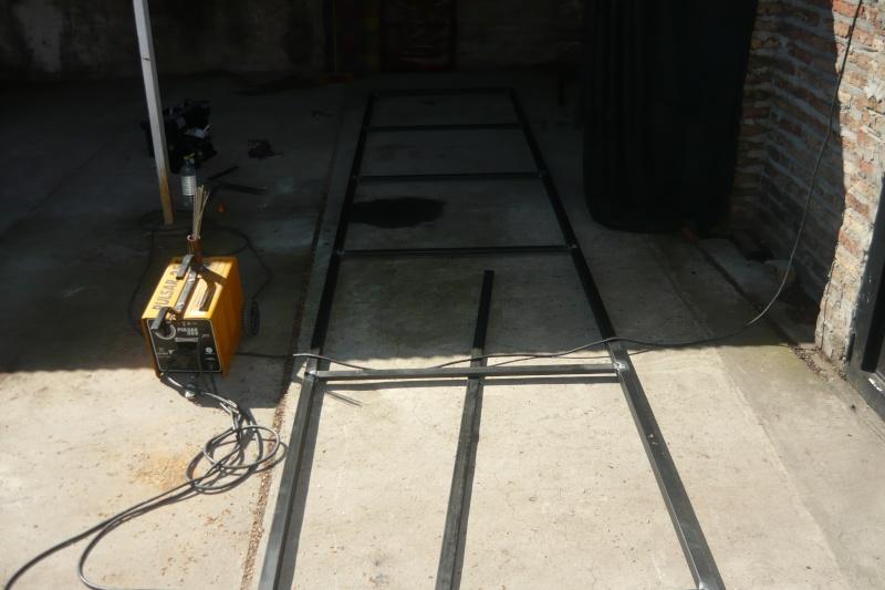 techo - Techo para pasillo con chapa  Vxg111