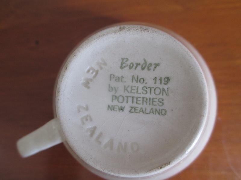 New backstamps and Border Pat.No.119 01611
