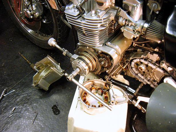 Mon Café Racer avance - Page 2 Rotor210