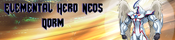 Elemental Hero Neos Dorm