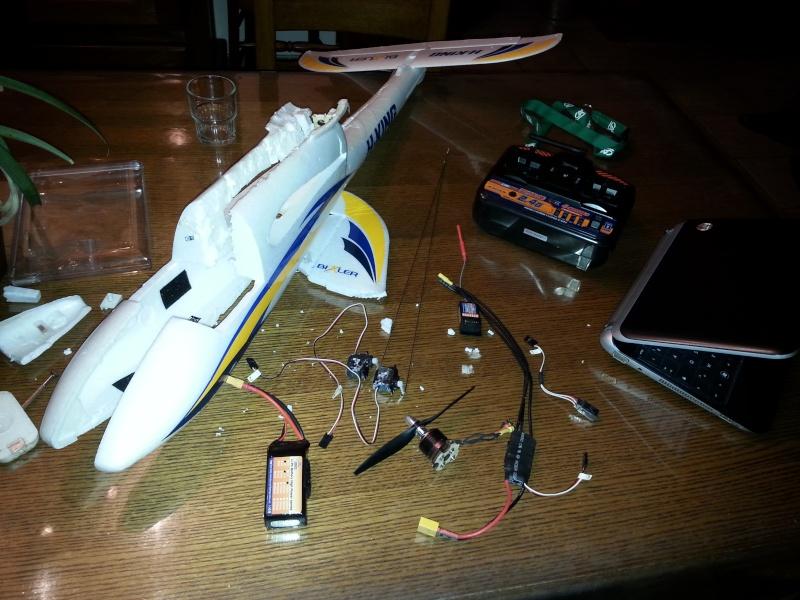 Diamètre de fil pour kit LED turnigy  20140311