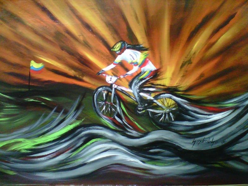 arte y ciclismo Abande10