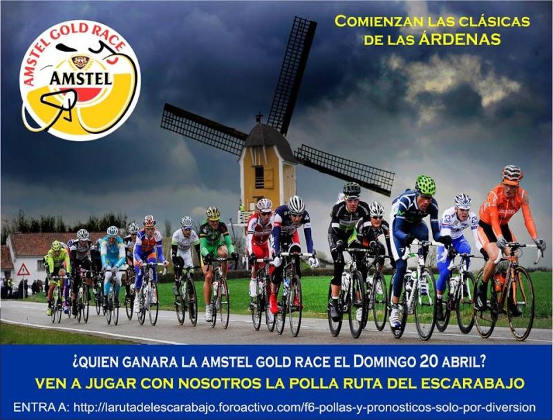 Polla Amstel Gold Race  Válida 10/36 La Gran Polla Anual Prodalca Amstel10
