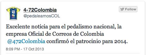 Ojo al duelo 4-72  /  Team Colombia Captur33