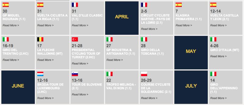 Calendario Nacional 2014 Captur75