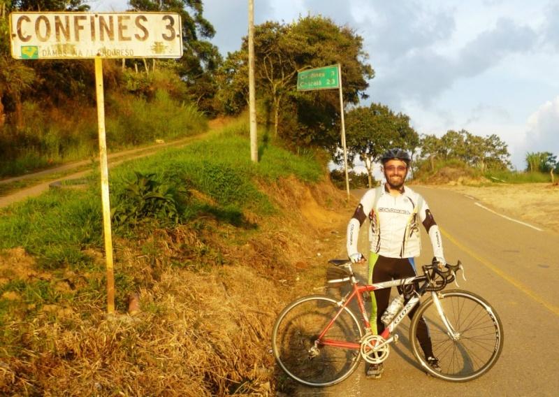 Mi pequeña Vuelta a Colombia.  14 etapas - 30 días - 1530km  Confin11