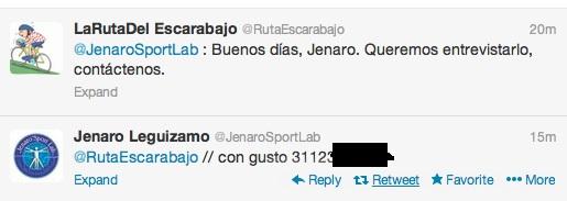 """colombia - Hector Urrego, sin """"el profe"""" delante Jenaro10"""