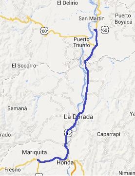 Mi pequeña Vuelta a Colombia.  14 etapas - 30 días - 1530km  Mariqu10