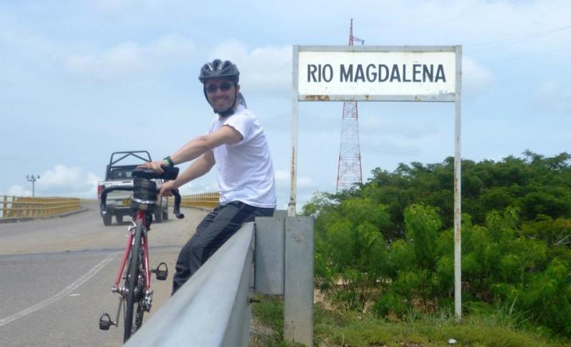 Mi pequeña Vuelta a Colombia.  14 etapas - 30 días - 1530km  Rio10