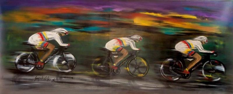 arte y ciclismo Triple10