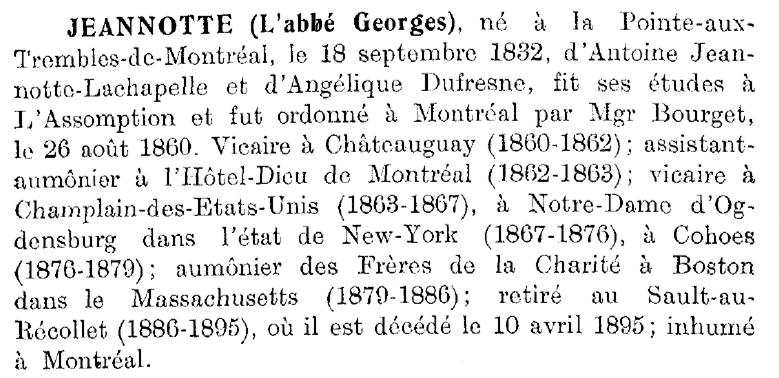 Jeannotte, abbé Georges Abba_g10