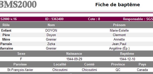 Clermont Doyon et Annette Grenier Estell10