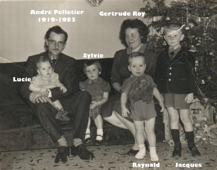 Famille Thomas Pelletier et Marie-Blanche Dumas - Souvenirs partagés par Denise Famill29