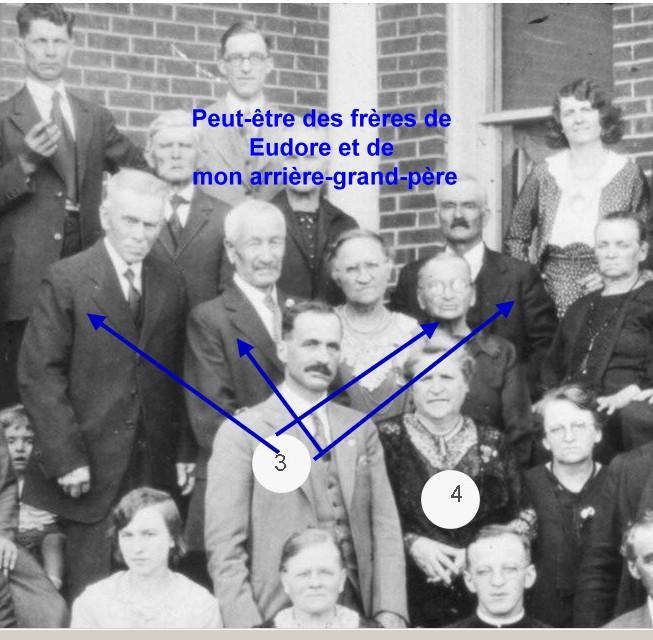 Qui sont ces gens ? Fournier Perreault ou ? impossible - Souvenirs partagés par Denise Frares10