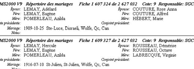 Jean-Eugène Lemay/Azilda Pomerleau Garaco10
