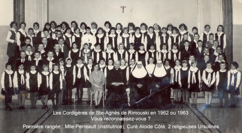 Les Cordigères, Ste-Agnès de Rimouski - Souvenirs partagés par Denise Les_co10